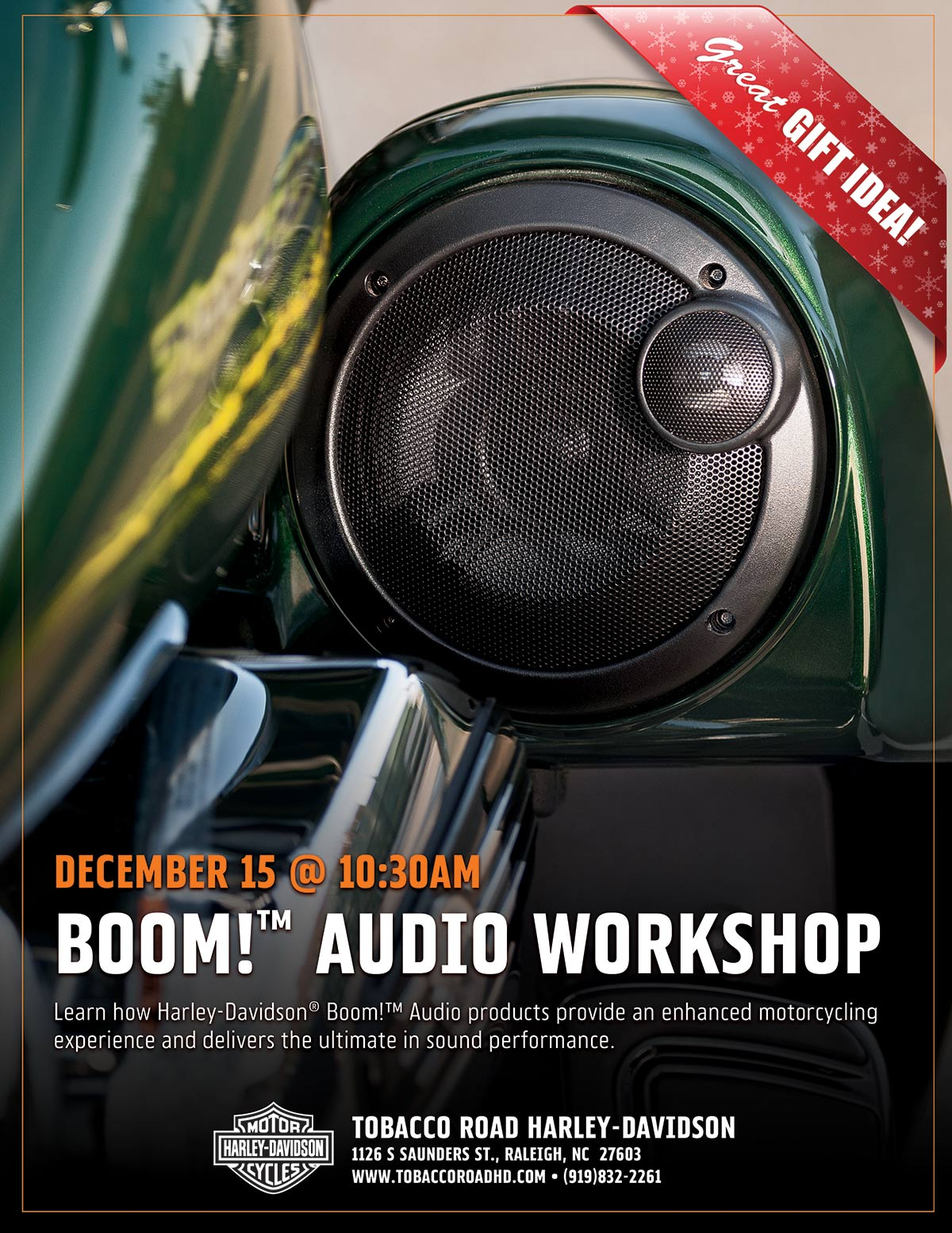Boom! Audio Workshop