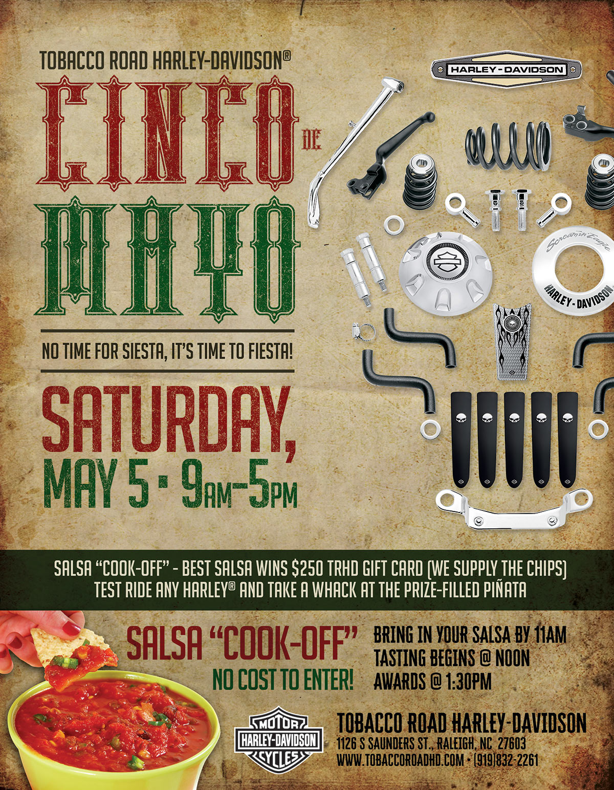Cinco de Mayo Party & Salsa Cook-Off