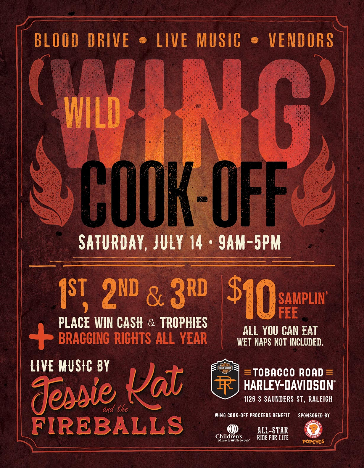 Wild Buffalo Wing Cook-Off