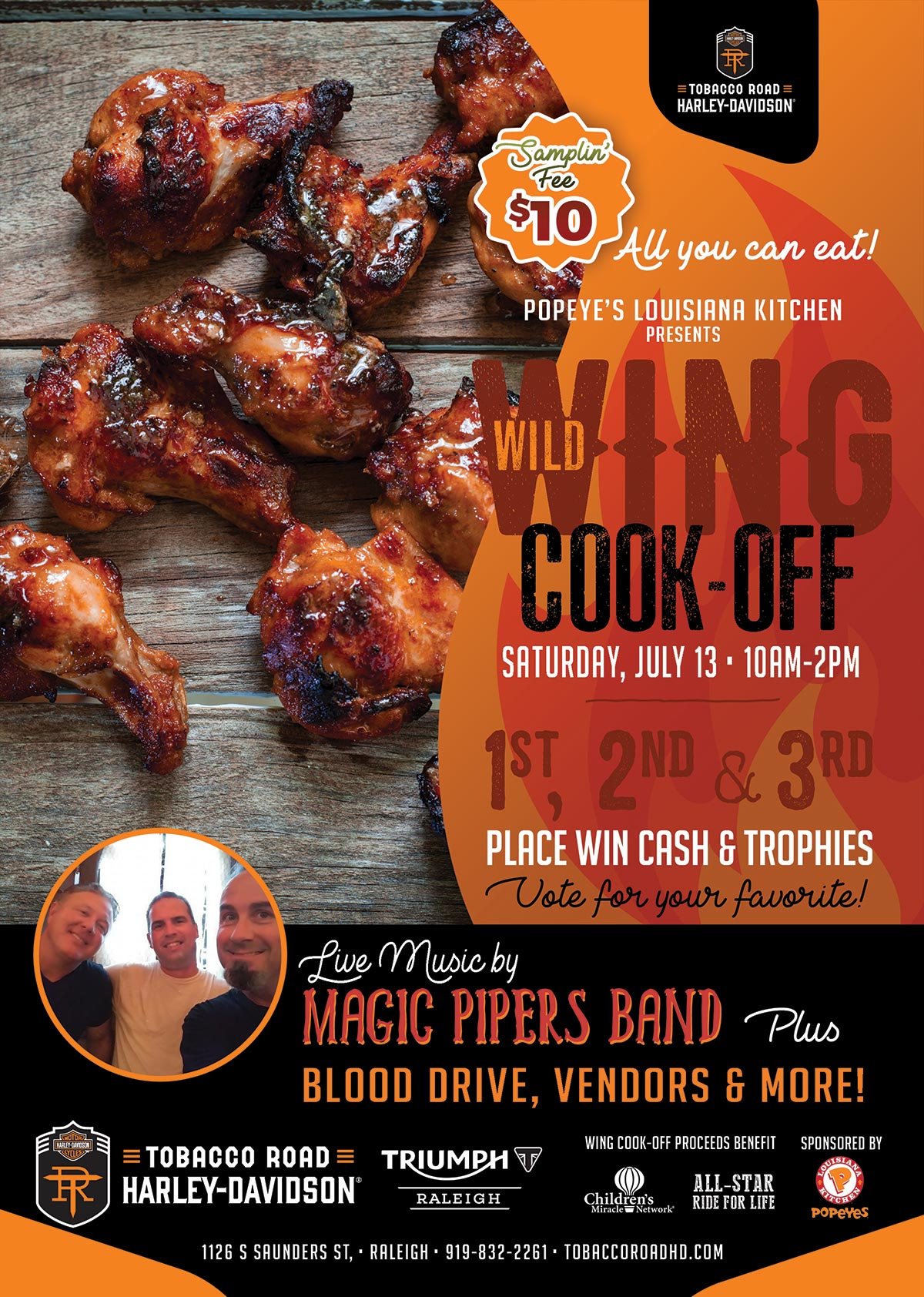 Wild Wing Cook-Off