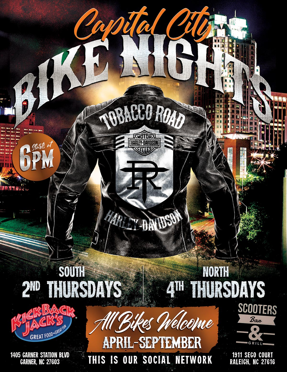 Capital City Bike Nights