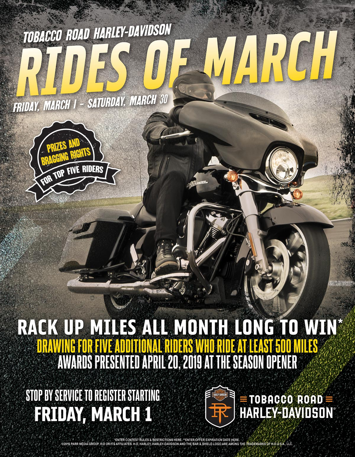 Rides of March