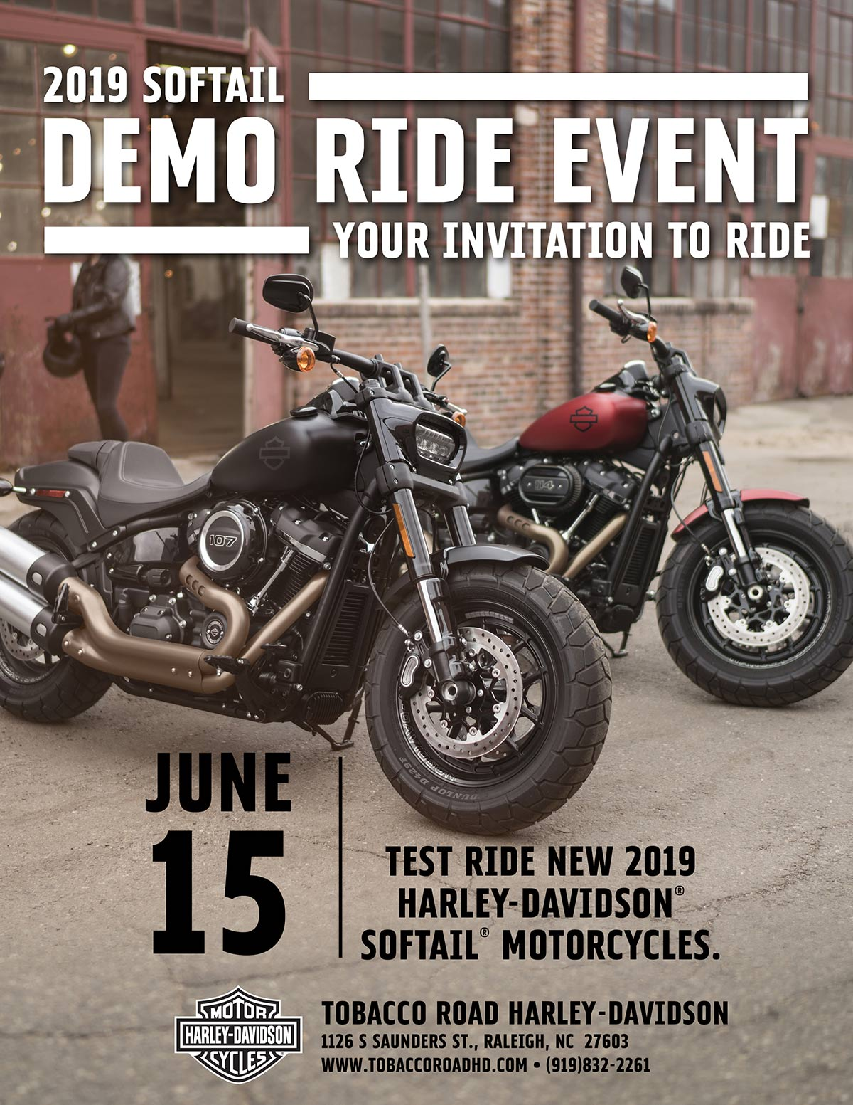 Softail Demo Event
