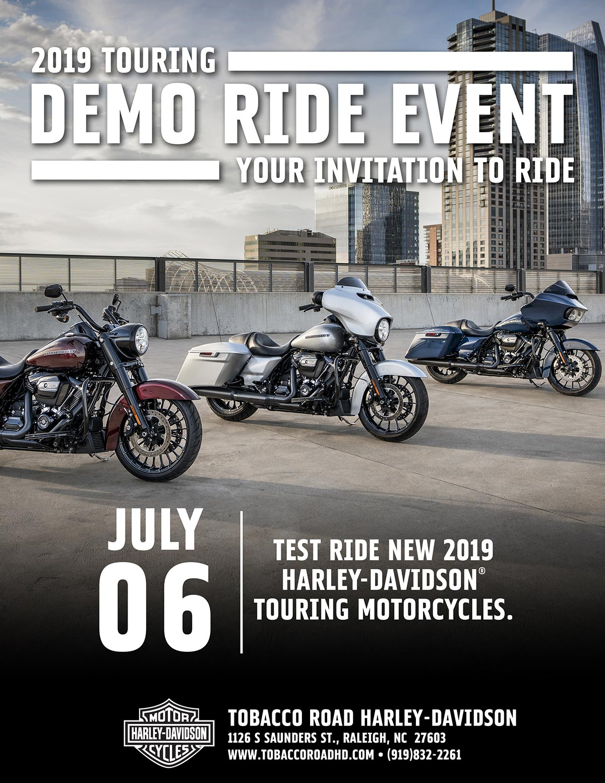 Touring Demo Ride Event