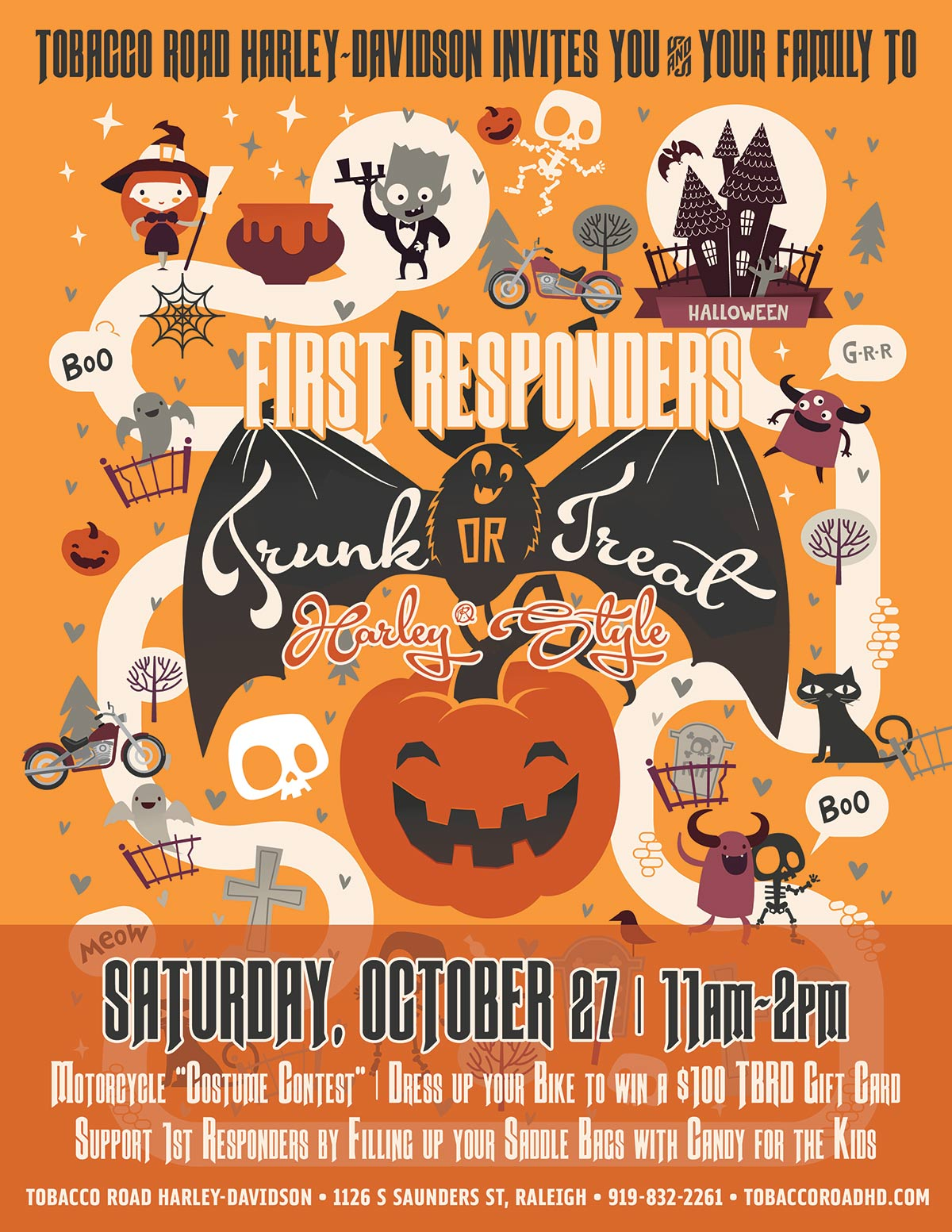 First Responders Trunk or Treat