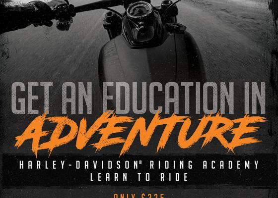 Harley-Davidson Riding Academy - Learn to Ride
