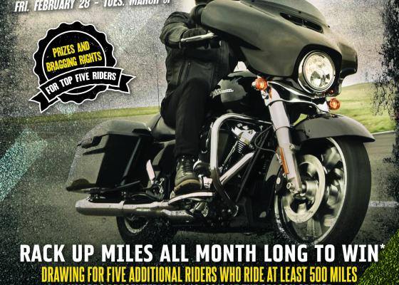 Motorcycle Rides of March