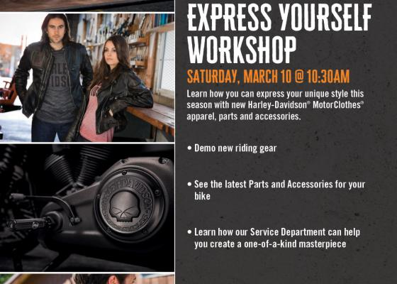 Freedom to Express Yourself Workshop