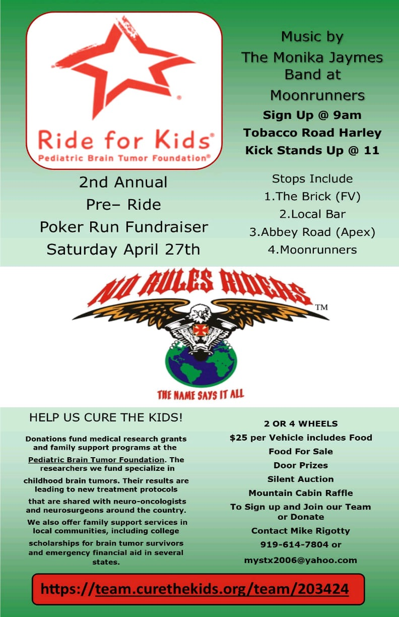 Pre Ride for Kids Celebration | Tobacco Road Harley-Davidson Events
